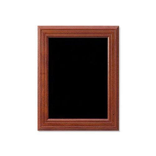 tableau pour crire la craie acajou lxh 70x90 cm reliure plastification. Black Bedroom Furniture Sets. Home Design Ideas