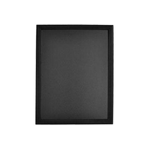 tableau pour crire la craie noir lxh 70x90 cm reliure plastification. Black Bedroom Furniture Sets. Home Design Ideas