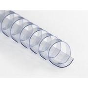 Albyco - Anneaux plastiques couleurs spéciales 6 mm (jusqu'à 25 feuilles)