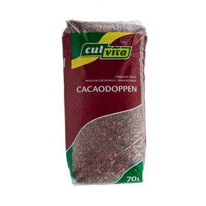 Cacaodoppen 70 Liter