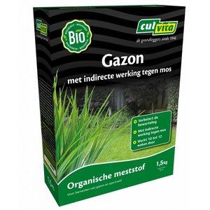 Organische Gazonmest tegen Mos