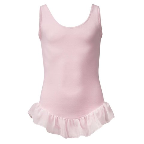 PK4041 Sleeveless Leotard voile frilly