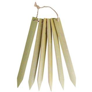 Esschert Design Bamboe plantlabels - set van 6