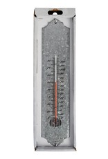 Esschert Design Thermometer 50 cm - oud zink