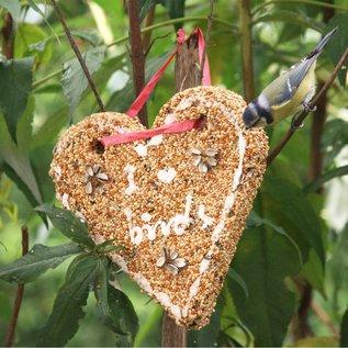 Esschert Design Vogelzaad hart - I love birds