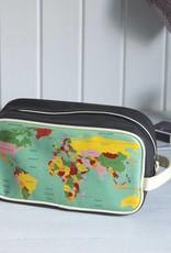 Dotcomgiftshop Toilettas - Wereldkaart