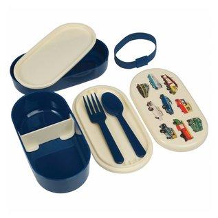 Dotcomgiftshop Bento lunch box - Vintage Transport