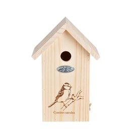Esschert Design Nestkast Pimpelmees - Silhouet - hout