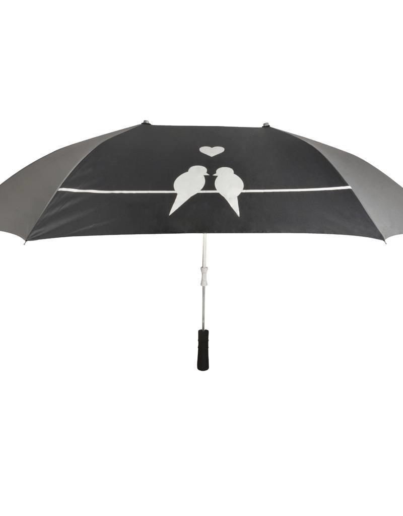 Esschert Design Paraplu - Love Birds - 2 persoons