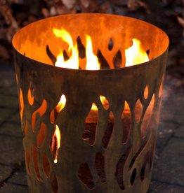 Esschert Design Vuurkorf - Vlammen - Roest