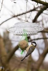 Esschert Design Vintage vetbolhouder ruitjesglas