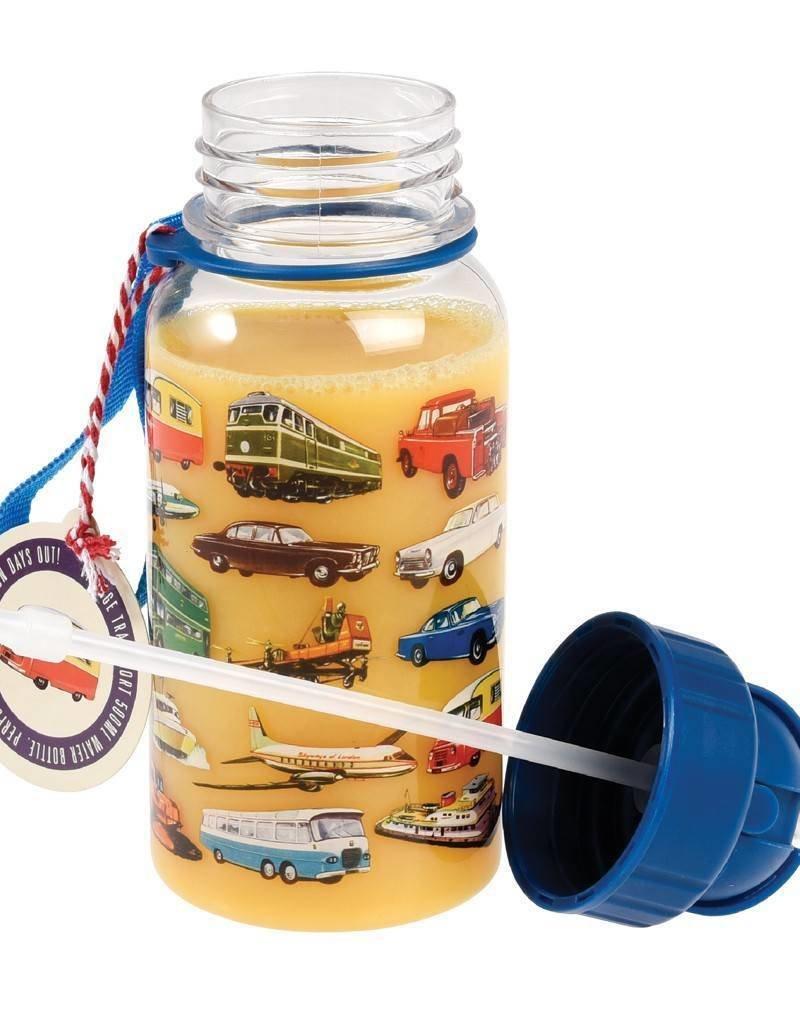 Rex London Kinder waterfles - Vintage Transport