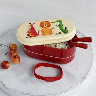 Rex London Bento lunch box - Colourful Creatures