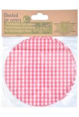 Esschert Design Ruitjesdoekjes voor jampotjes