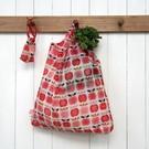 Rex London Opvouwbare tas - Vintage Apple
