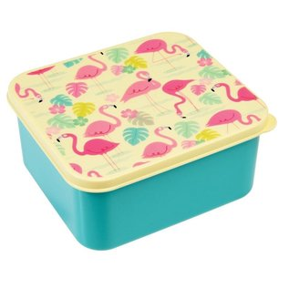Dotcomgiftshop Lunchtrommel - Flamingo Bay