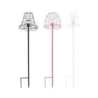 Esschert Design Theelicht lamp op poot metaal