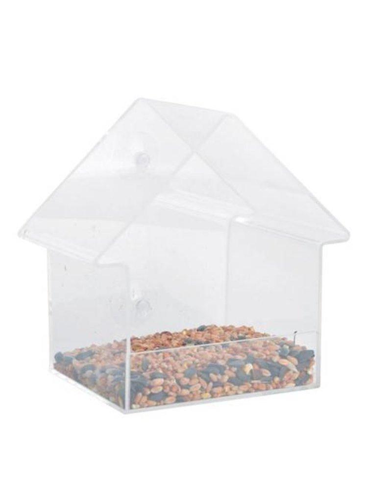 Esschert Design Acryl raamvoedertafel - Huis