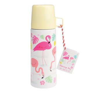 Dotcomgiftshop Thermosfles - Flamingo Bay