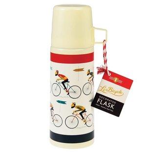 Dotcomgiftshop Thermosfles - Le Bicycle