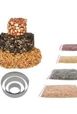 Esschert Design Doe-het-zelf taarttoren-vogelvoerfiguur