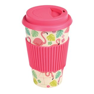Rex London Eco Coffee beker - Flamingo Bay
