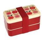 Dotcomgiftshop Bento Lunchbox XL - Vintage Apple