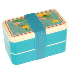 Rex London Bento Lunchbox XL - Wereldkaart