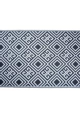 Esschert Design Tuintapijt - zwart/wit