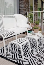 Esschert Design Tuinset 4 delig - metaal wit
