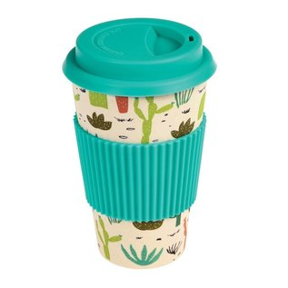Dotcomgiftshop Eco Coffee beker - Cactus