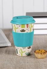 Dotcomgiftshop Eco Coffee beker - Cactus