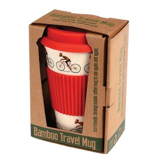 Dotcomgiftshop Eco Coffee beker - Bicycle