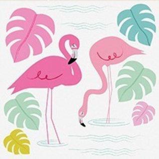 Dotcomgiftshop Rugzak - Flamingo Bay