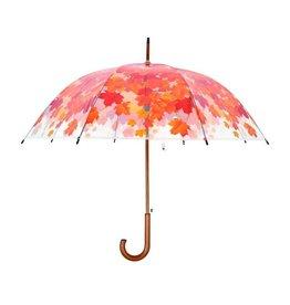 Esschert Design Paraplu - Boomkroon - transparant - Herfst