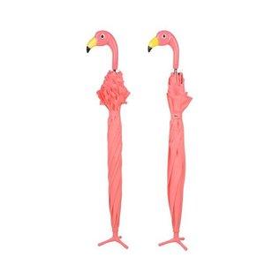Esschert Design Paraplu - Flamingo met roesjes