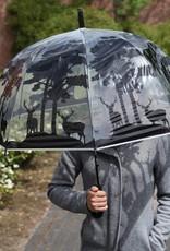 Esschert Design Paraplu - Transparant - Bos
