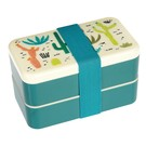 Rex London Bento Lunchbox XL - Cactus