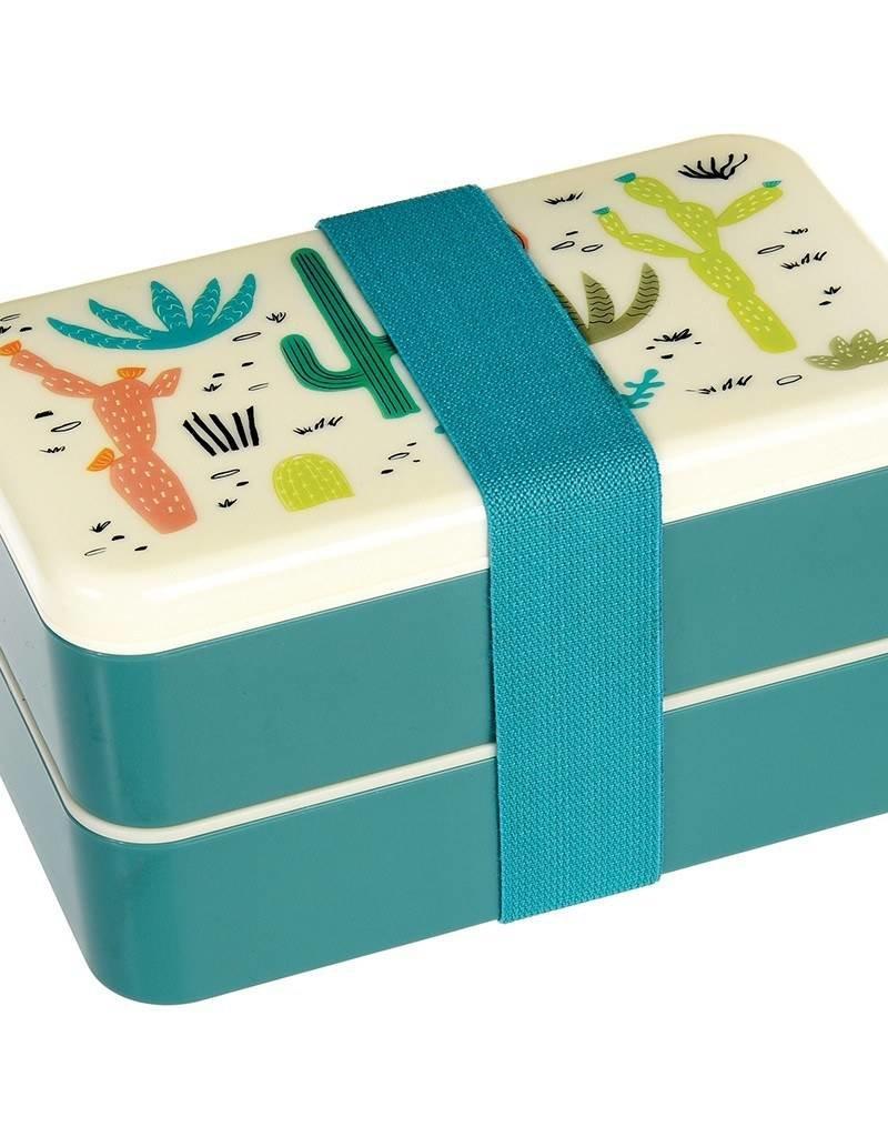 Rex London Bento Lunchbox XL - Cactus