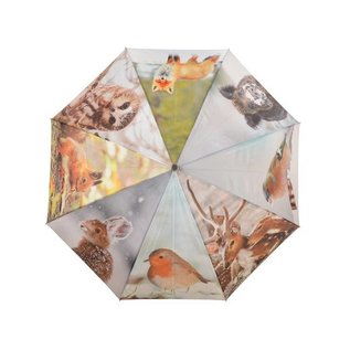 Esschert Design Paraplu - Nature prints