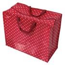 Dotcomgiftshop Big shopper - Rood met witte stippen