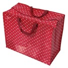 Rex London Big shopper - Rood met witte stippen