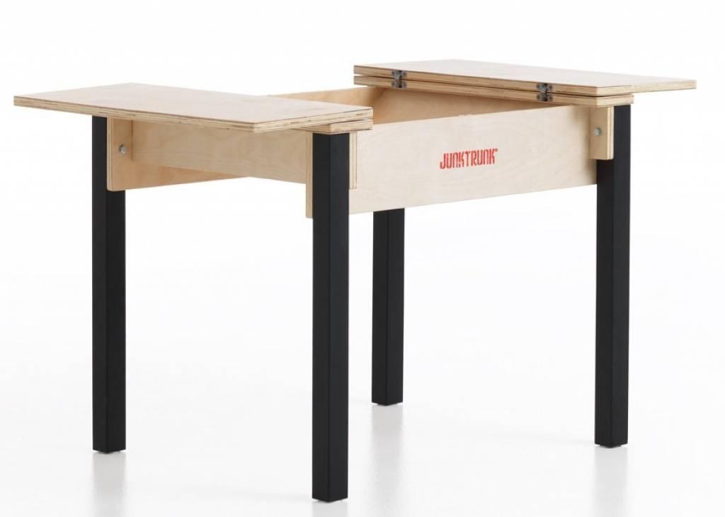 Kindertisch holz  Kindertisch Set aus Holz - Kindertischset mit zwei Stühlen im ...