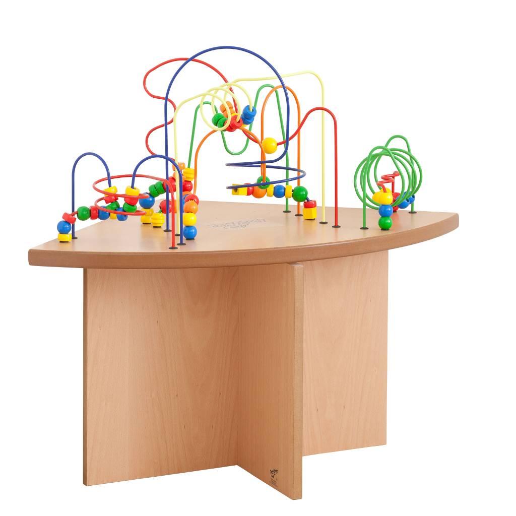 motorikschleife tisch tisch mit motorikschleife spieltischshop. Black Bedroom Furniture Sets. Home Design Ideas