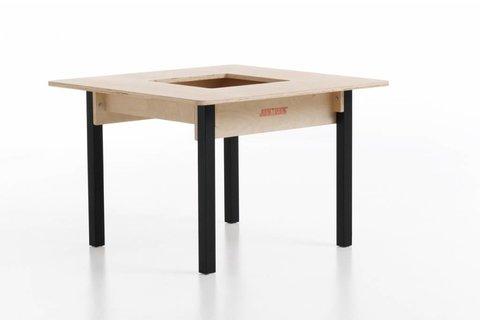 Kindertisch holz  Kindertisch Massivholz - Kindertisch aus massiv Holz natur ...