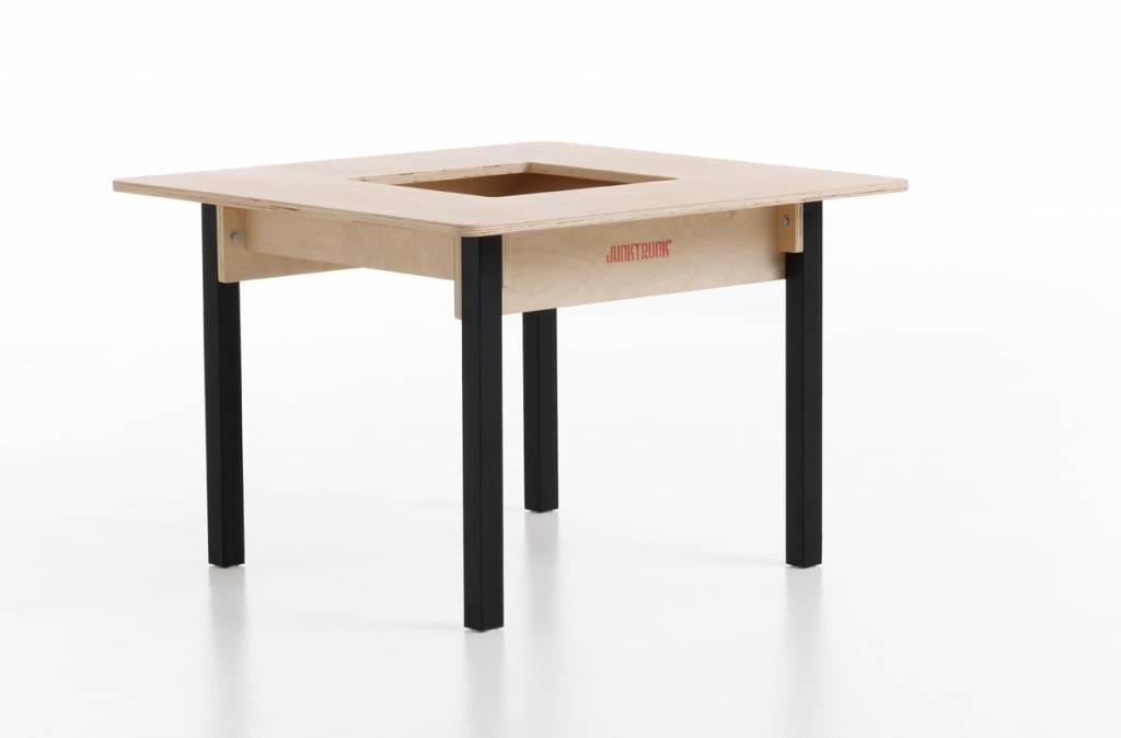 kindertisch massivholz kindertisch aus massiv holz natur viereckig spieltischshop. Black Bedroom Furniture Sets. Home Design Ideas