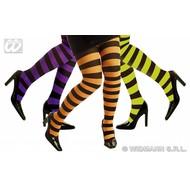 Halloweenaccessoires: Neon panty