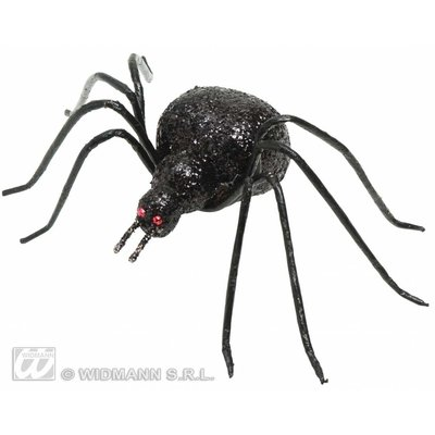 Halloweenaccessoires glitter spin 6,5cm