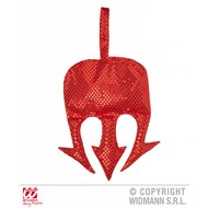 Halloweenaccessoires duivel drietand handtas