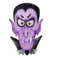 Halloweenaccessoires stoffen wanddecoatie vampier